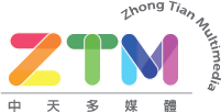 ZTM中天多媒體 Logo